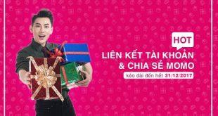 Gia hạn chia sẻ MoMo nhận 100k mỗi người đến hết 31/12/2017