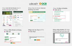 Hướng dẫn liên kết ví điện tử MoMo với ngân hàng OCB