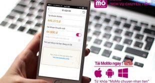 Thông báo: Ngưng sử dụng Tài khoản khuyến mãi trên ứng dụng MoMo
