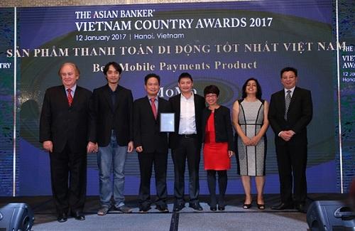 MoMo nhận giải sản phẩm thanh toán di động tốt nhất Việt Nam
