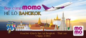 Bay cùng MoMo – Hế lô Bangkok
