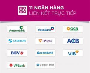 Tổng hợp các ngân hàng liên kết với MoMo mới nhất 2020