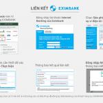 Hướng dẫn liên kết ví MoMo với ngân hàng Eximbank nhận Voucher 100.000đ