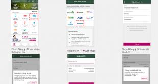 Các bước liên kết Ví MoMo thẻ nội địa Sacombank