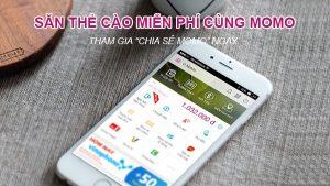 Hướng dẫn cách nhận thẻ cào điện thoại miễn phí với ứng dụng MoMo